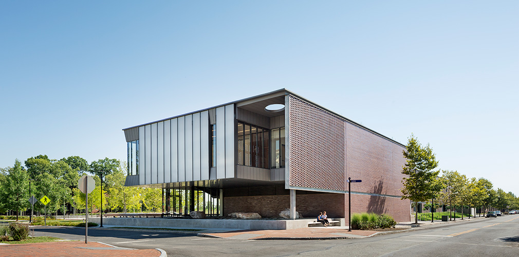 <p>The newly built Center for Building Energy Education & Innovation demonstrates best practices for sustainable new commercial construction. <br /><br><small>©Michael Moran/OTTO</small></p>