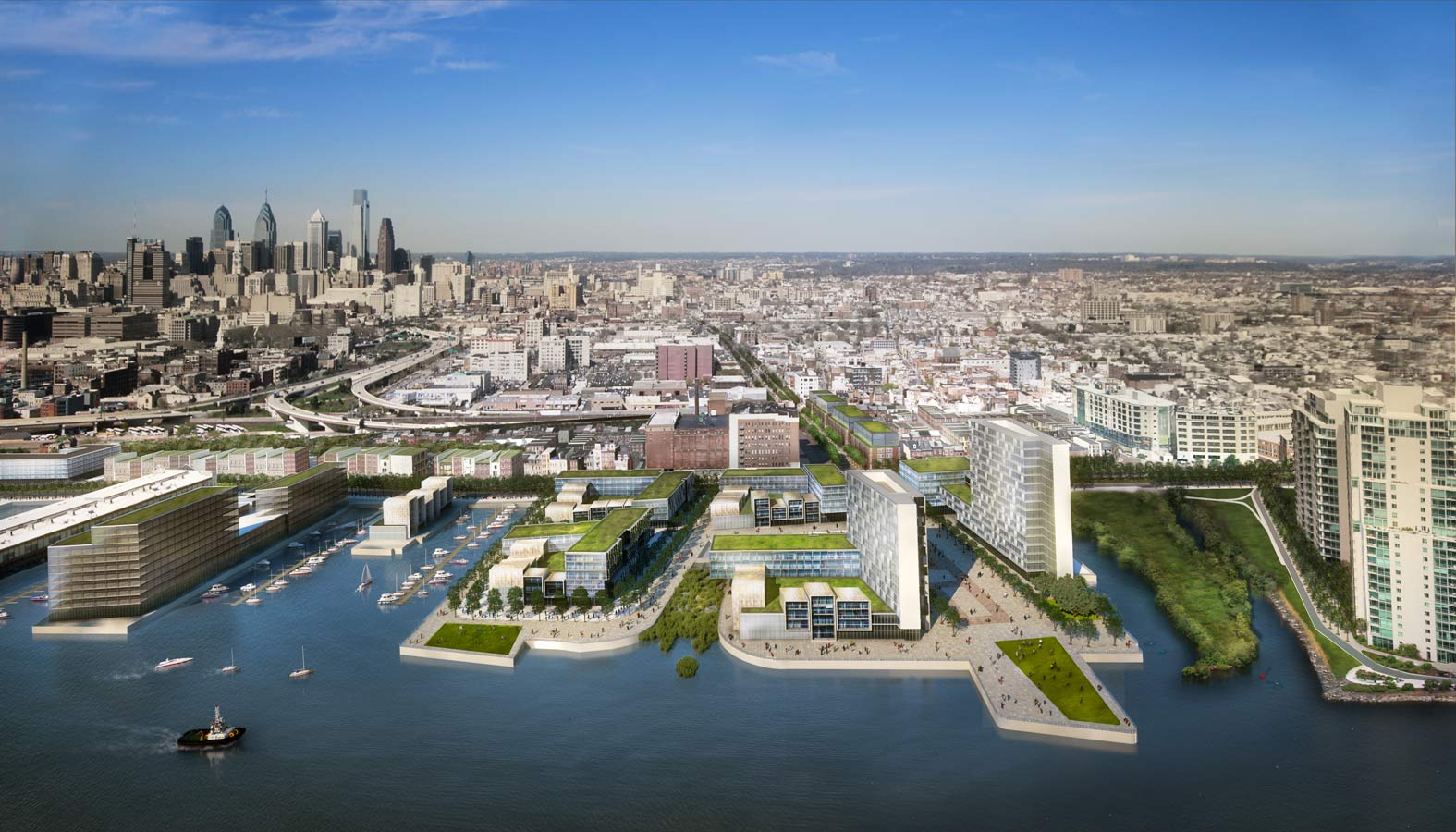 Astonishing Master Plan For The Central Delaware Philadelphia Waterfront Largest Home Design Picture Inspirations Pitcheantrous