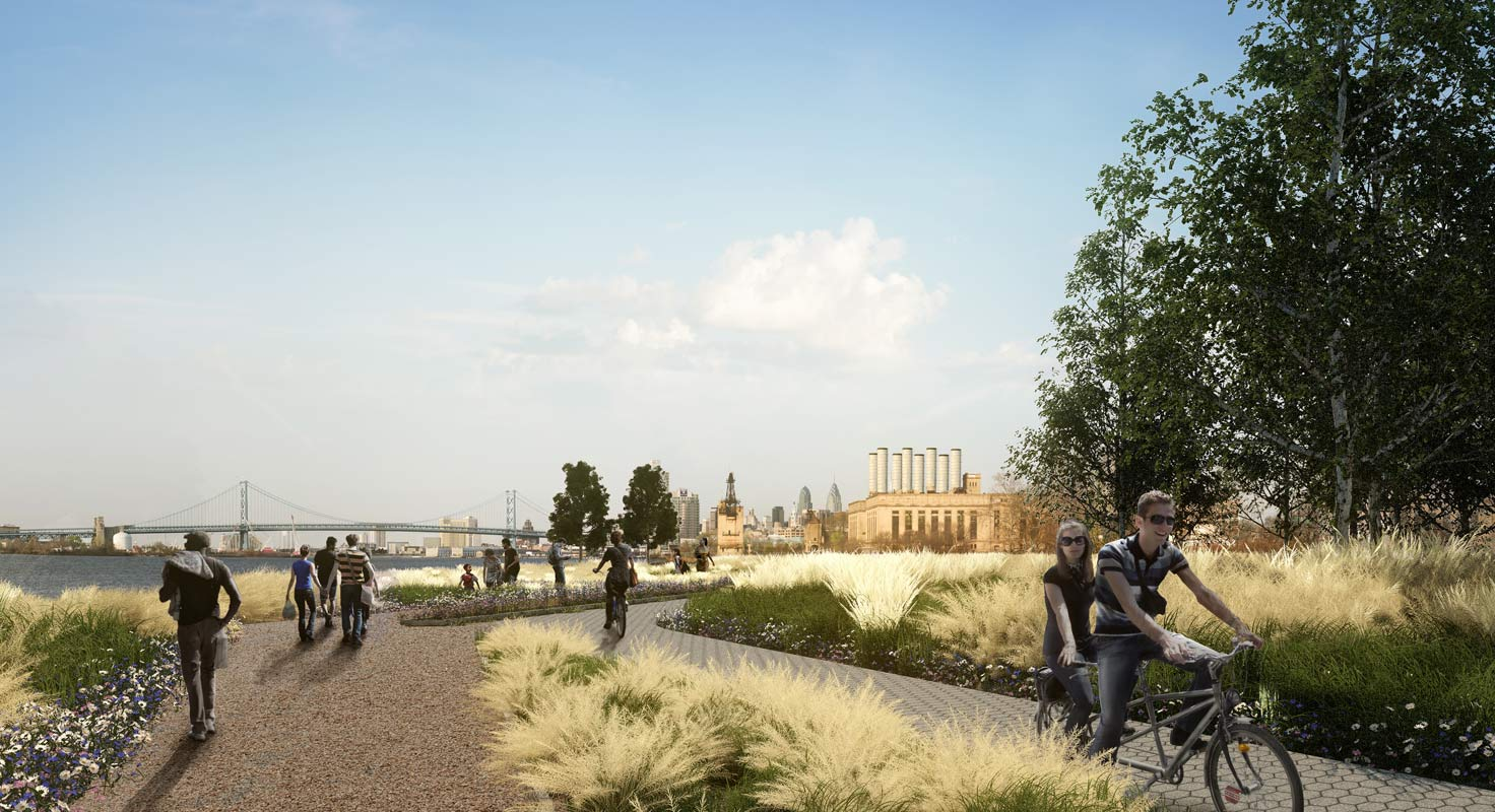<p>A key principle of the plan is to create a network of civic and public spaces that are distinctive public amenities as well as catalysts for private development.</p>