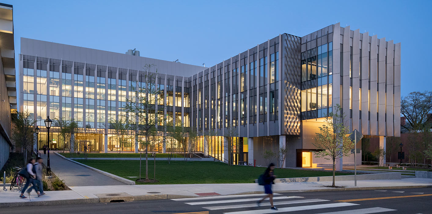 <p>The Engineering Research Center unites a previously disconnected assembly of buildings into a new home and community resource for Brown's School of Engineering. <small>&copy;Peter Aaron/OTTO</small></p>