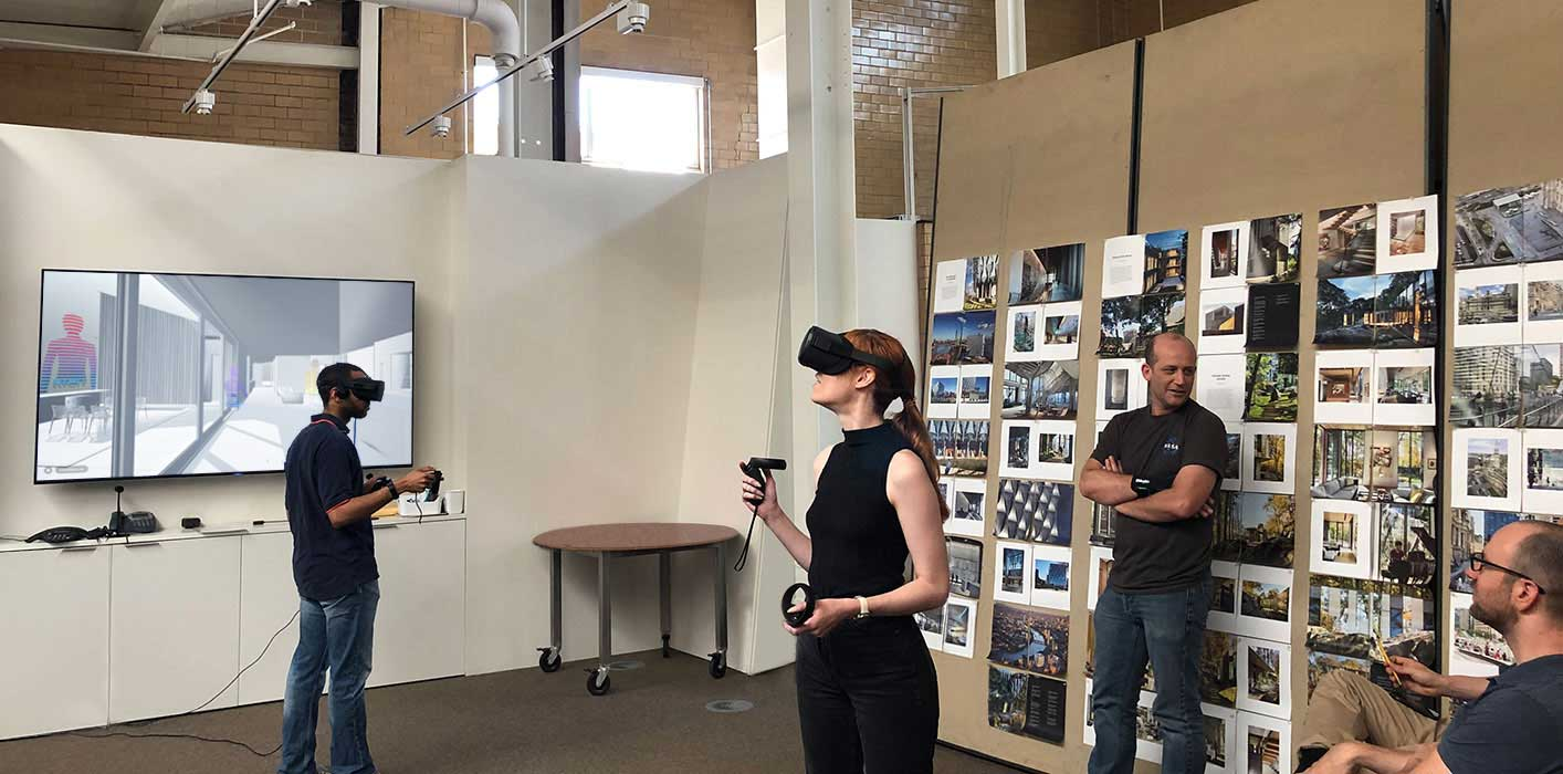<p>As digital modeling moves into the realm of virtual reality, we have begun to test the different merits and drawbacks of tethered versus wireless systems. </p>