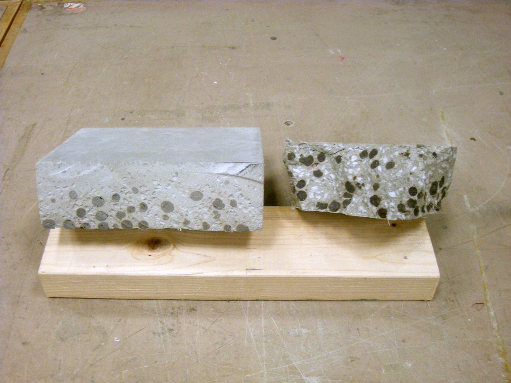 Experiments In Concrete Casting